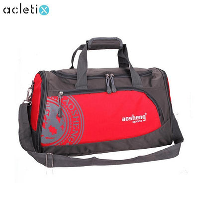 Nylon Sports Gym Shoulder Bag - Dealeaz