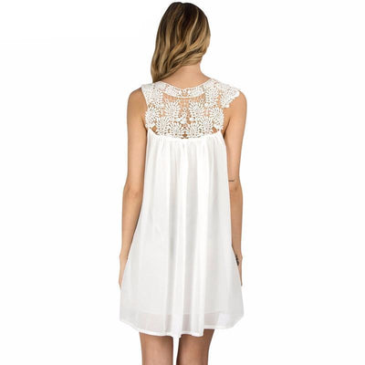 Summer Lace Boho Beach Dress - Bodeaz.com