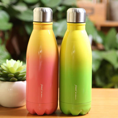 FitMe Bottle - Gradient Rainbow - Stainless Steel Insulated Bottle