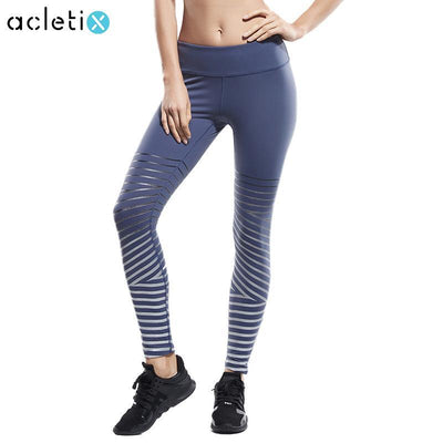 Lumina Reflective Strips Work Out Leggings Women