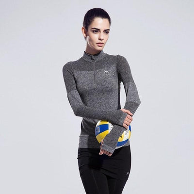 High Elastic Tights Women's Fitness Running Jacket - FitShopPro