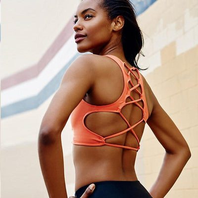 Trendy & Sexy Designed Fitness Sports Bra - Dealeaz