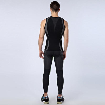 Men Body Slimming Shaper Tank-Top - Dealeaz