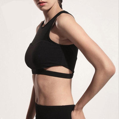 Trendy Urban Design Sports Bra - Dealeaz