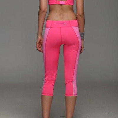 New Fitness Running Quick Drying Elastic Pants - Thermal & Breathable - FitShopPro