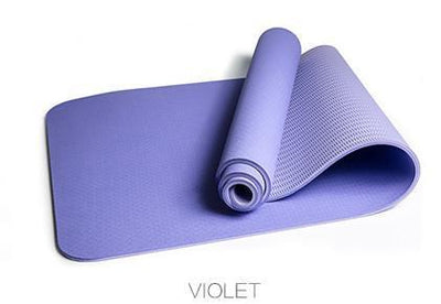 Double Sided Color Eco-friendly Yoga Mat
