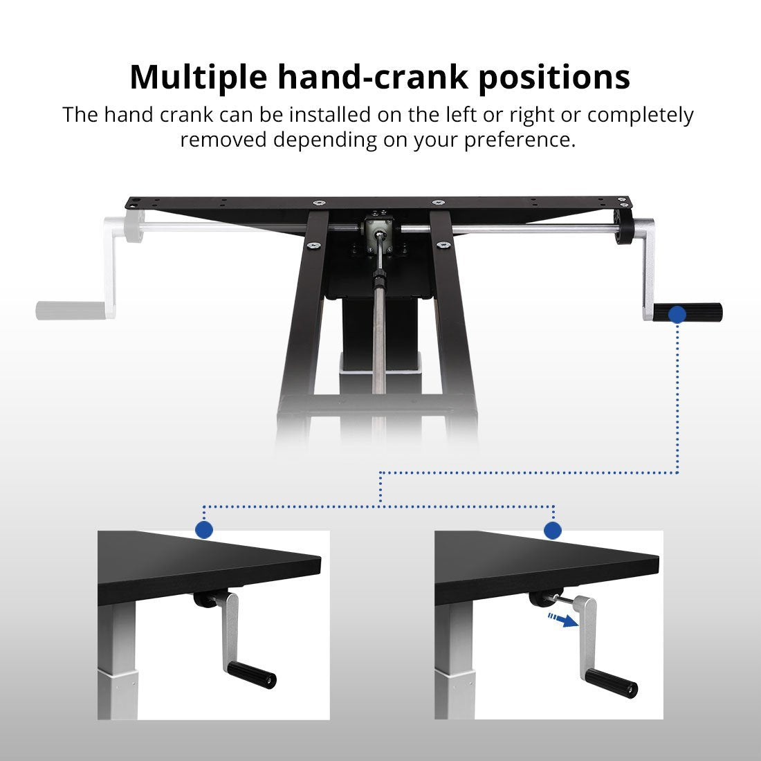 ... FlexiSpot Electric Height Adjustable Desks U2013 Frame Only H2