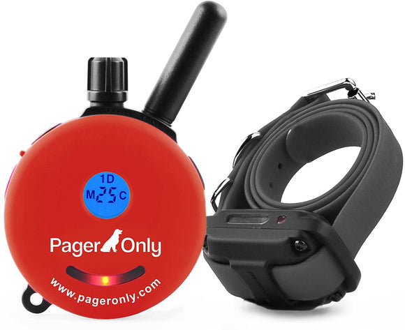 Educator Pager Only 1/2 mile Dog System Remote Training Collar