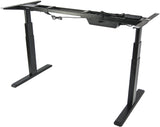 VIVO Electric Stand Up Desk Frame Only  w/ Dual Motor Ergonomic Standing Height Adjustable - T&T ONLINE WAREHOUSE LLC