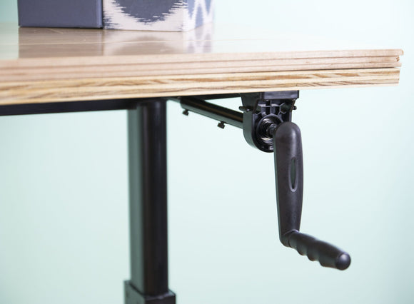 VIVO Manual Crank Stand Up Desk Frame Solid Steel System Ergonomic Standing Height Adjustable Desk Frame - T&T ONLINE WAREHOUSE LLC