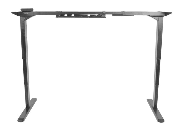 VIVO Electric Stand Up Desk Frame w/ Dual Motor and Cable Management Rack - T&T ONLINE WAREHOUSE LLC