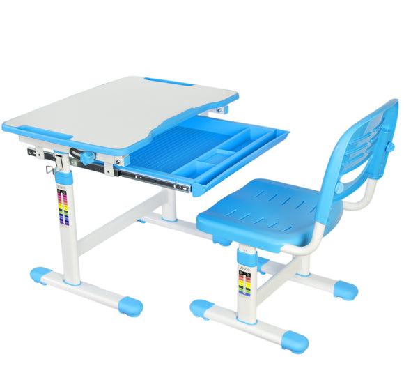 Vivo Kids Height Adjustable Desk & Chair - T&T ONLINE WAREHOUSE LLC