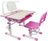 VIVO Deluxe Height Adjustable Children's Desk & Chair Kids Interactive Work Station Pink or Blue - T&T ONLINE WAREHOUSE LLC