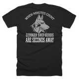 Short sleeve men's t-shirt Minutes Count