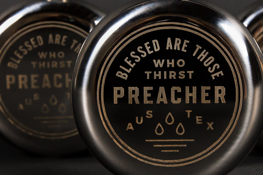 Preacher // Blessed Flask