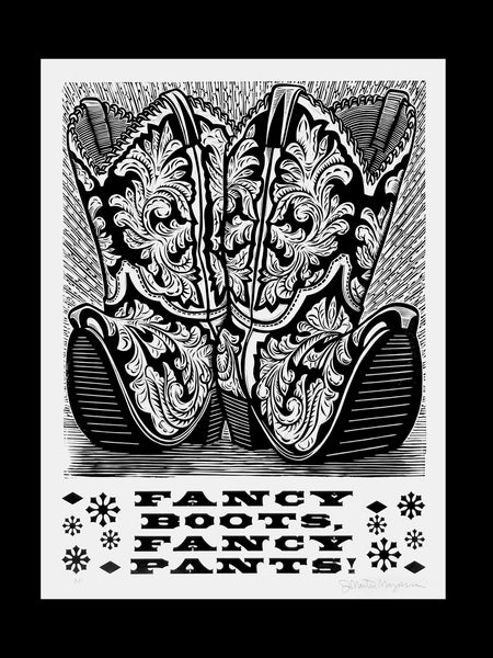 Martin Mazorra // Fancy Boots Fancy Pants