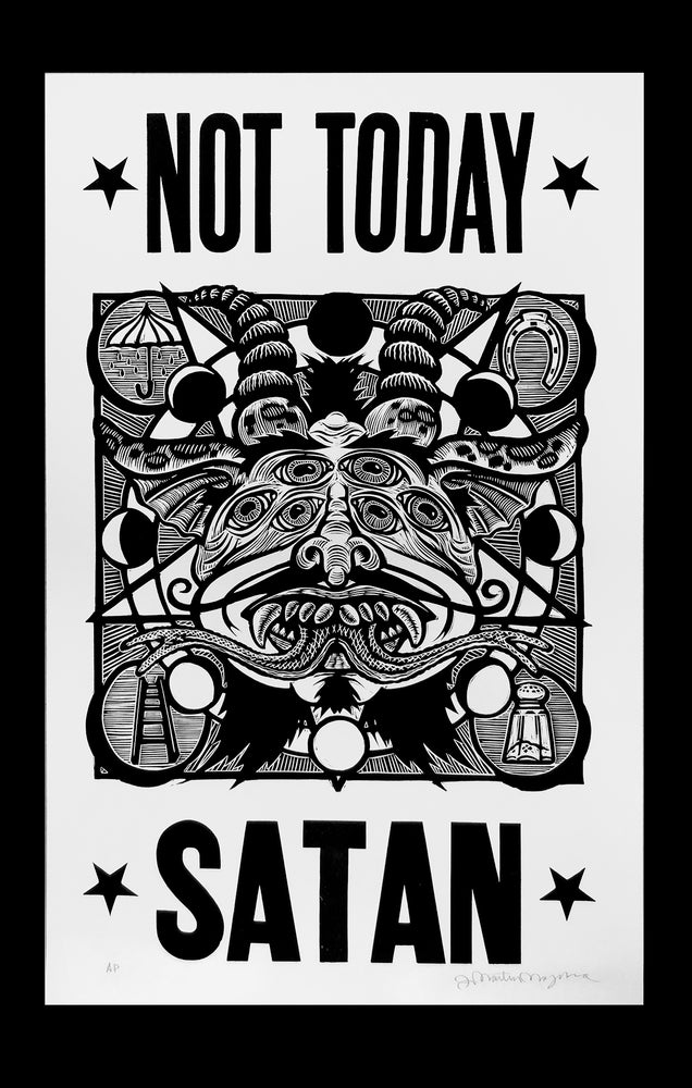Martin Mazorra // Not Today Satan