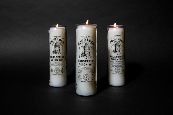 Preacher // Prosperity Candle White