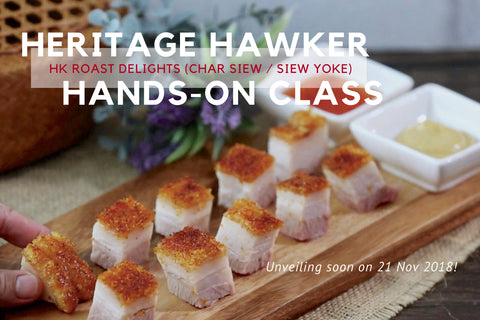 Hands-on Cooking Class (Heritage Hawker Delights Set 6)
