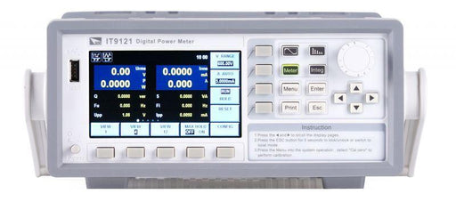 IT9121E ITECH Power Meter 600 V 20 A with Harmonics