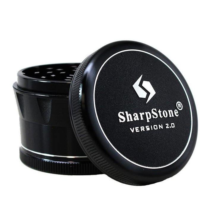Sharpstone V2 4 Piece Grinder Black