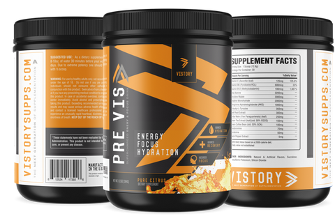 PREVIS - Supercharged Pre-Workout Powder vistory supplements main image
