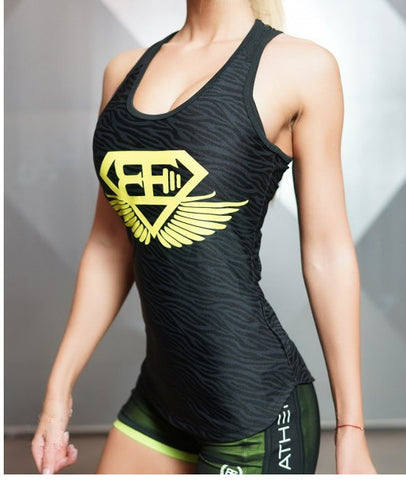 Blusas Fitness Tank Top vistory active main image yellow