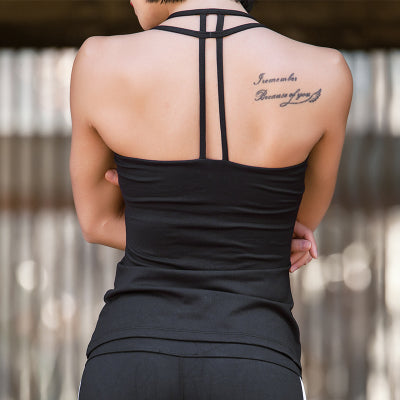 vistory active backless wrap top main image