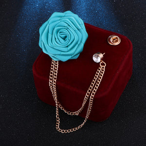 Handmade Rose Brooch