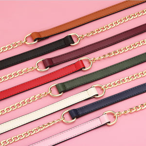 Chain and Leather Strap