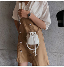 Knotty Bucket Bag