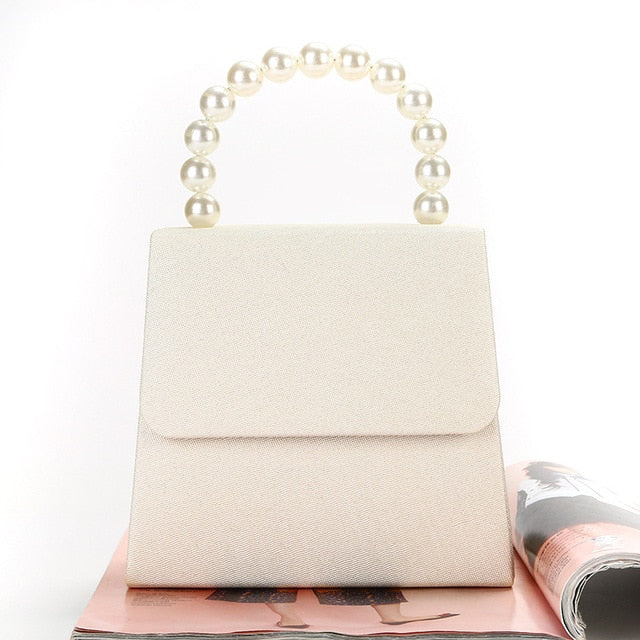 Minimal Pearl Mini Bag