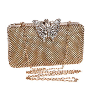 Butterfly Small Evening Clutch