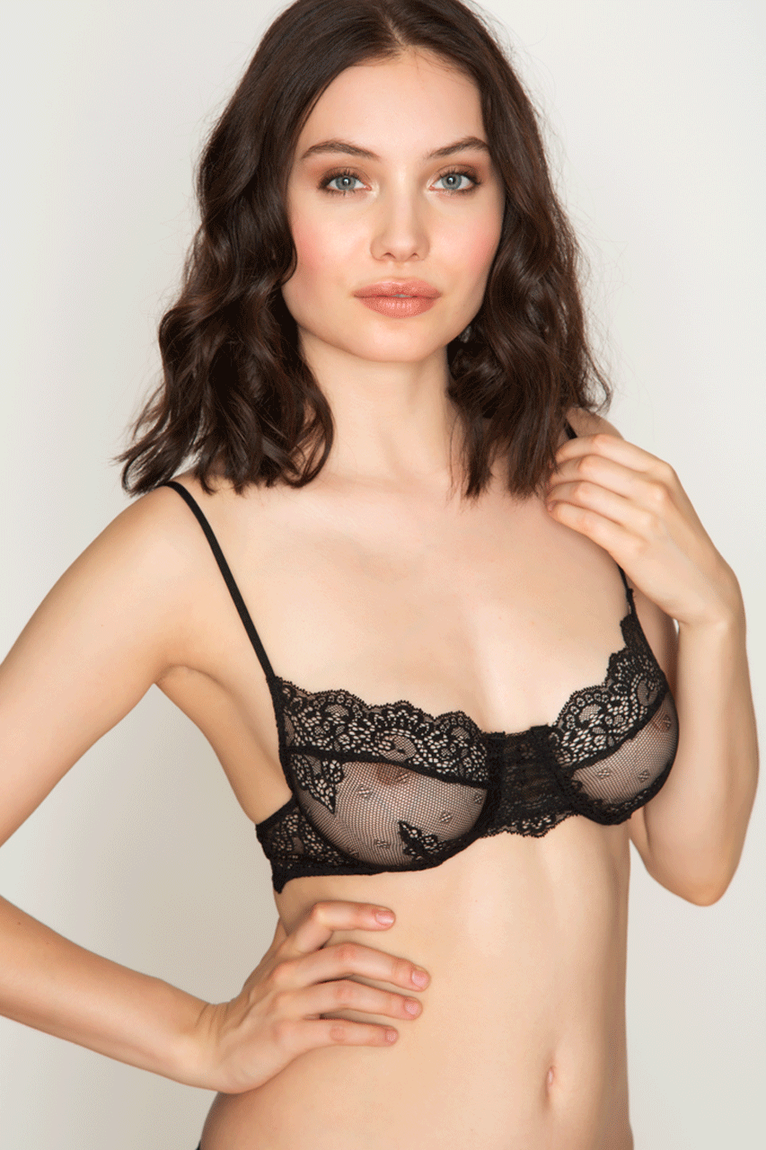 44a37163bc Only Hearts So Fine Lace Underwire Bra 1669 – Beverly Hills Hosiery