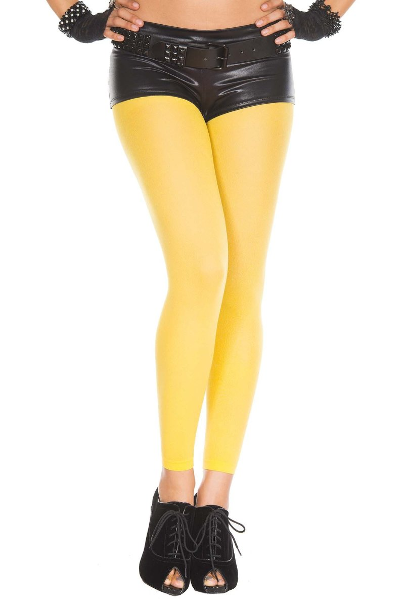 2e8625edb6383 Music Legs 35747 Opaque Footless Tights – Beverly Hills Hosiery