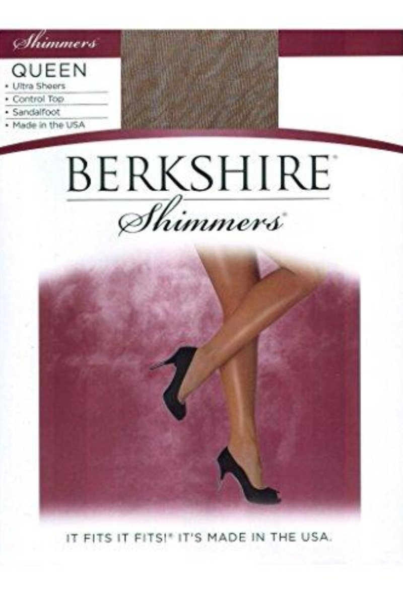 Berkshire 4412 Shimmers Queen Pantyhose