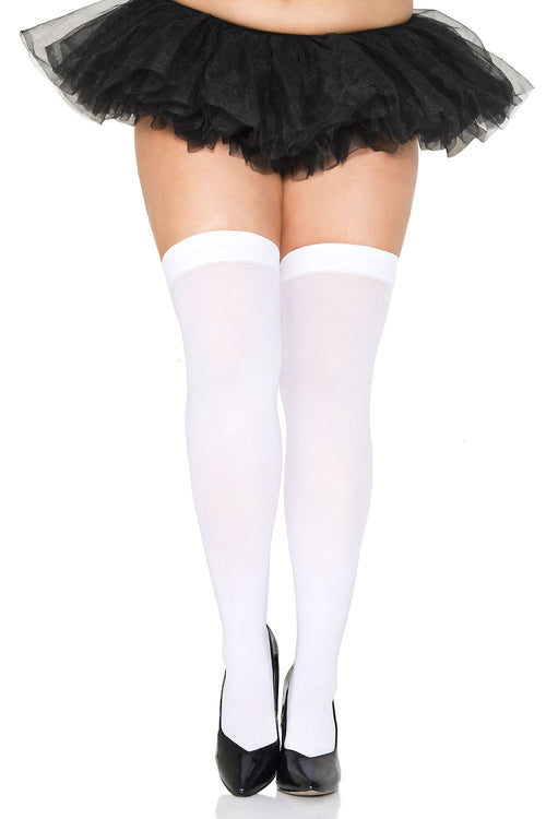 Music Legs 4745Q Opaque Thigh Hi