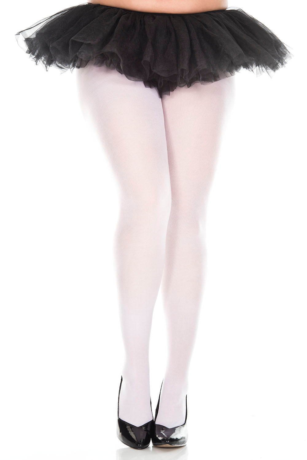 Music Legs 747Q Opaque Plus Size Tights
