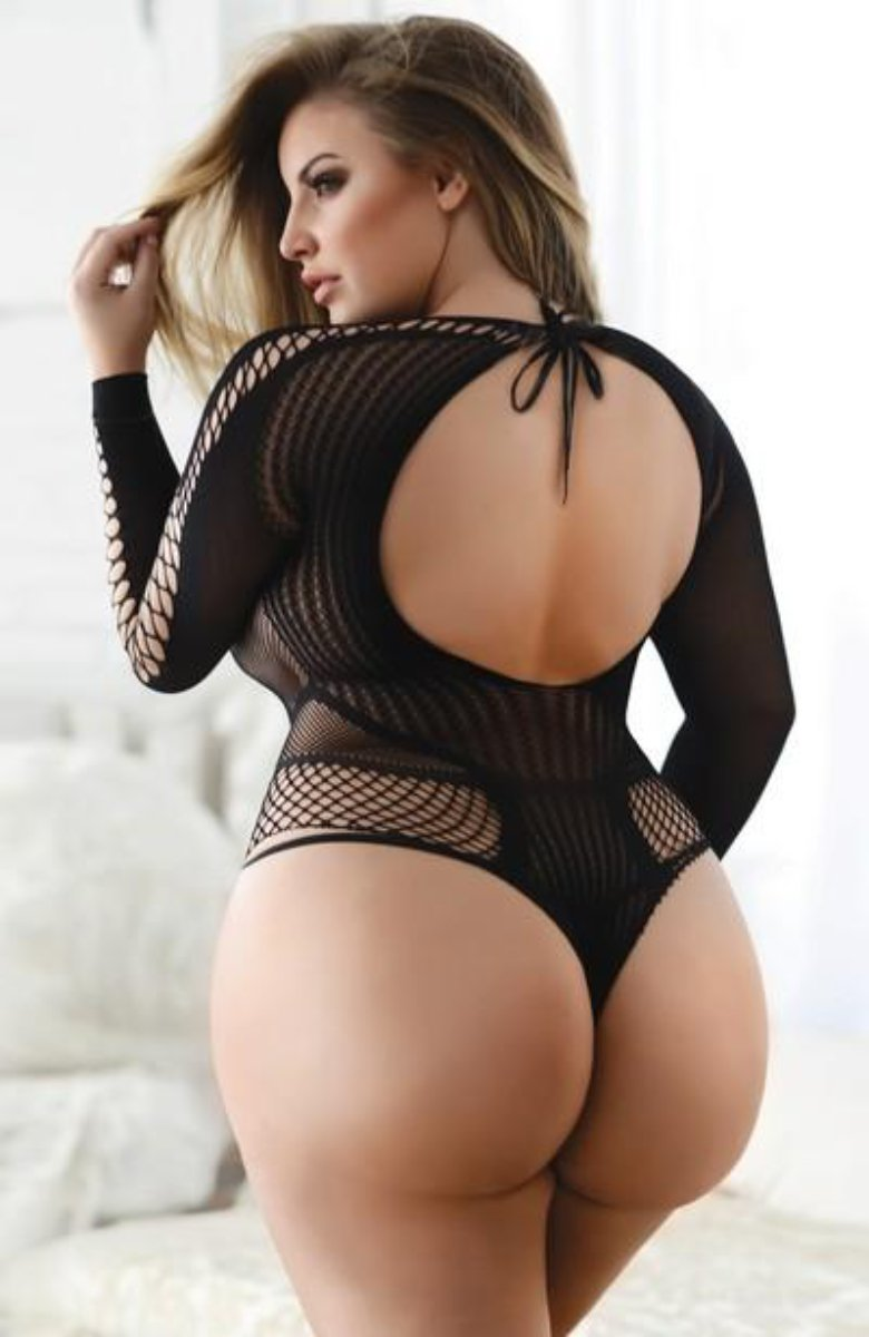 Yelete 818JT166Q Killer Legs Fishnet Bodysuit