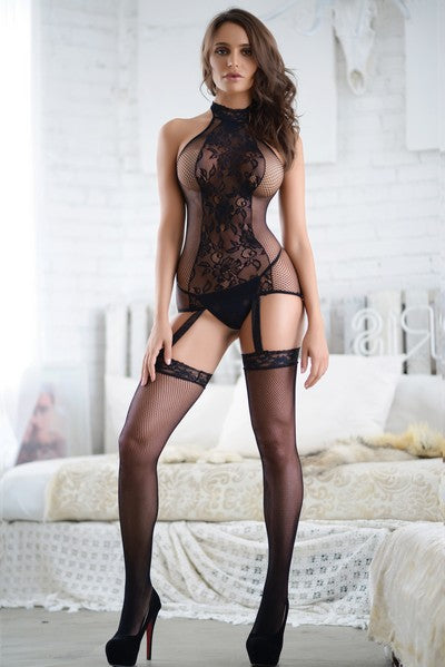 Yelete 818JT167 Killer Legs Fishnet Bodystocking
