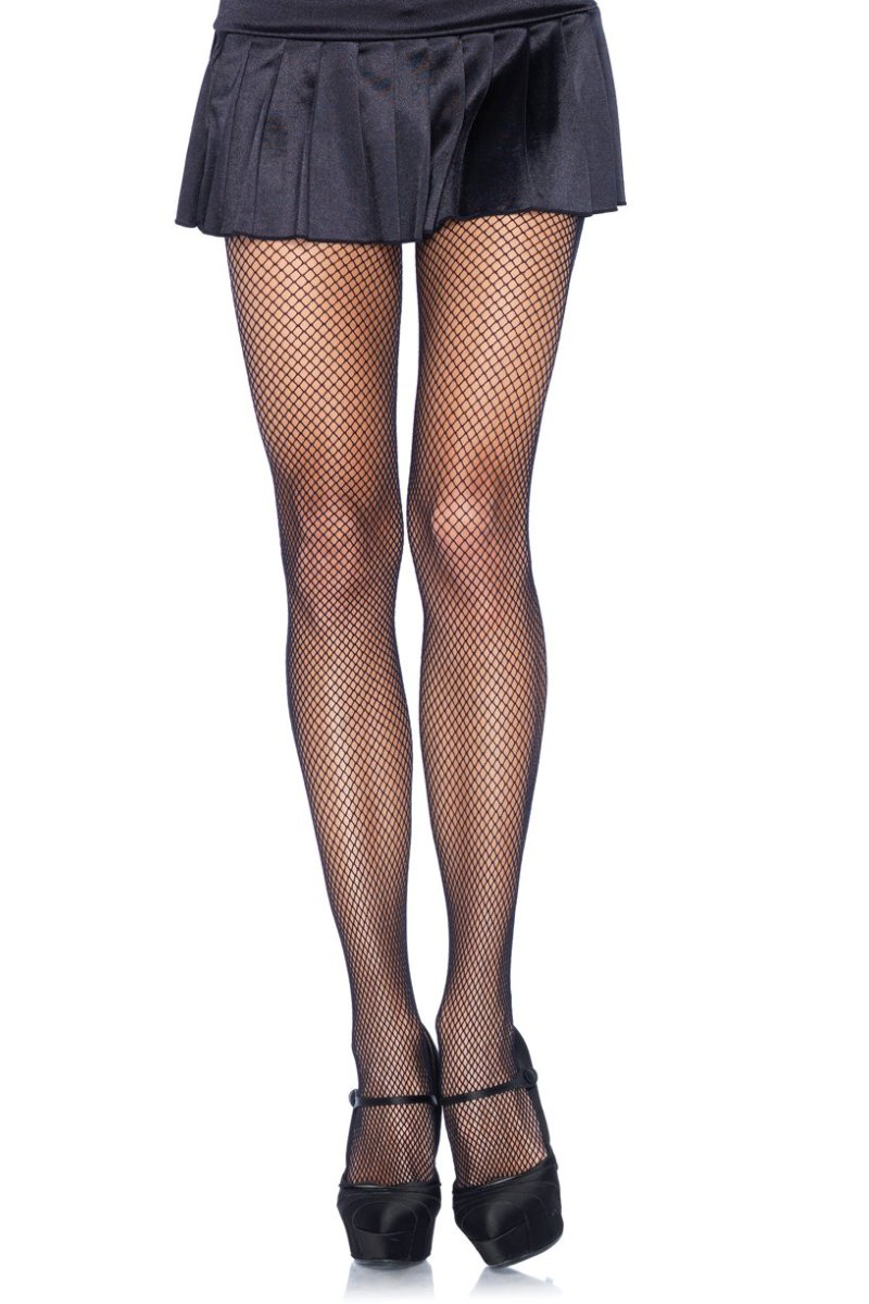 Leg Avenue 9001 Nylon Fishnet Pantyhose