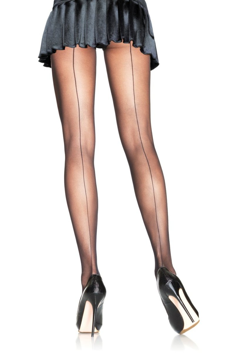 Leg Avenue 9002 Back Seam Sheer Pantyhose