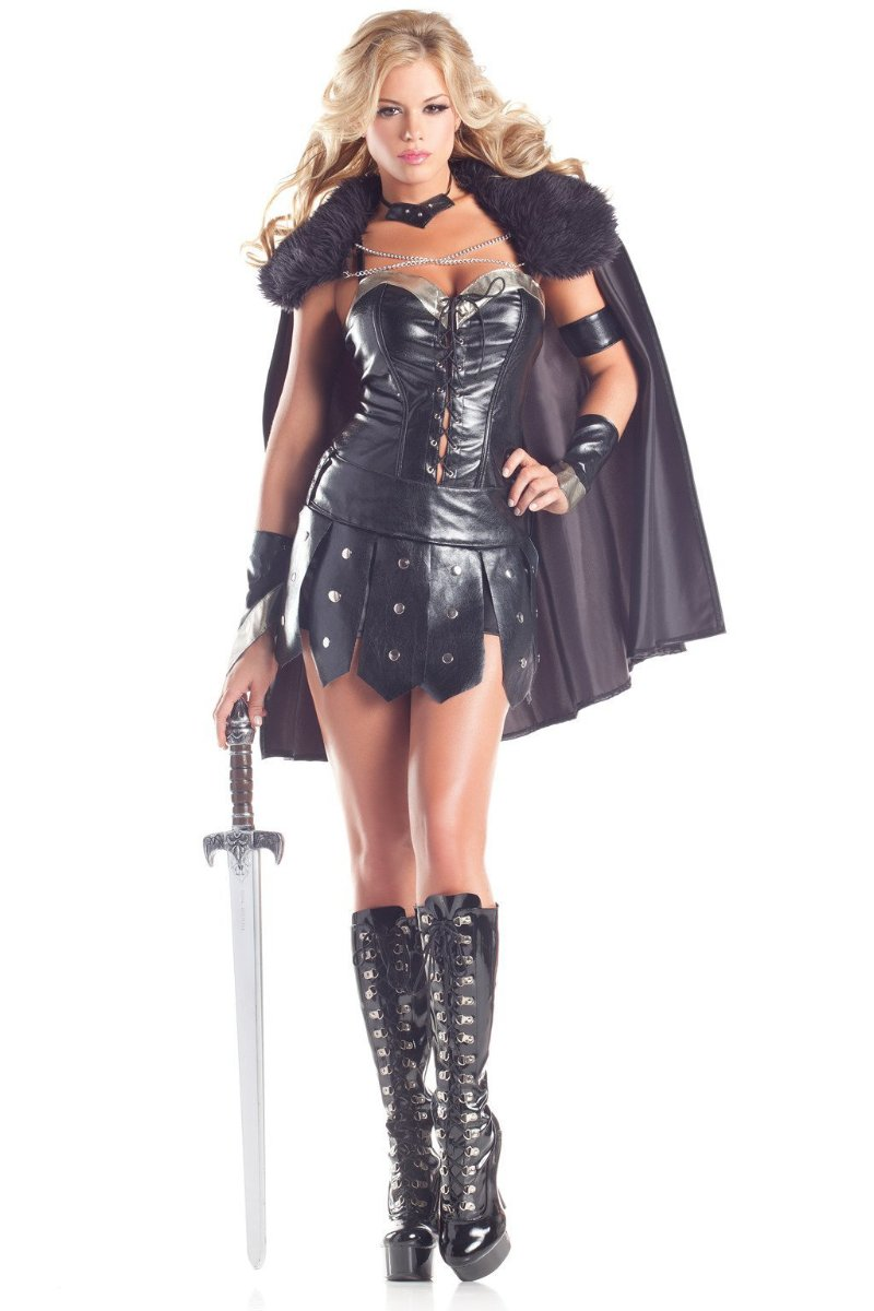 7bc79edbe8d71 Be Wicked 6 Piece Warrior Princess Costume BW1395 – Beverly Hills ...