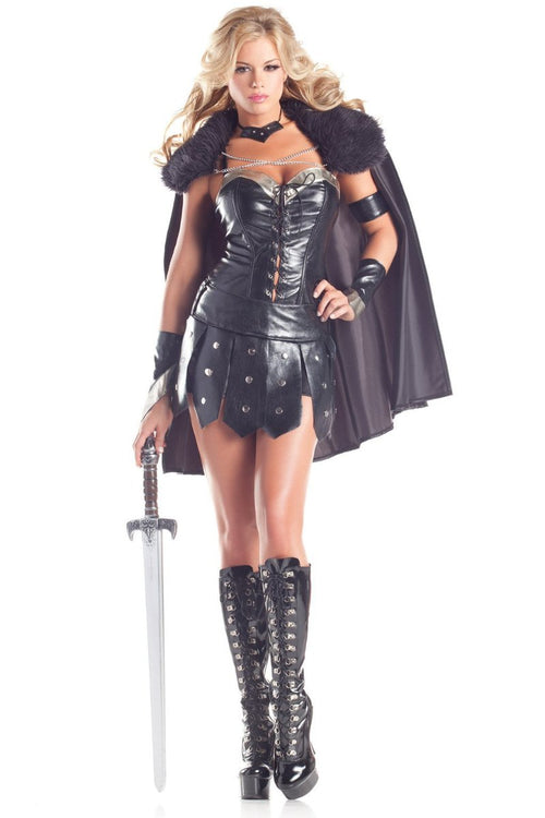 Be Wicked 6 Piece Warrior Princess Costume  BW1395