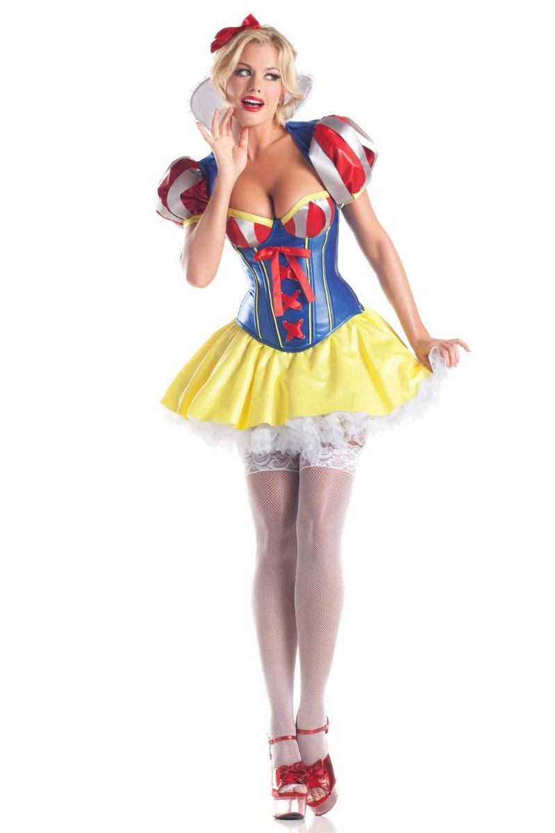 Be Wicked 5 Piece Sweetheart Snow Costume BW1405