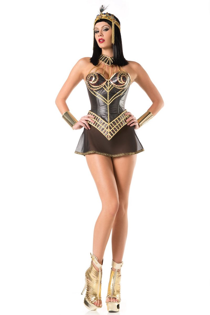 Be Wicked 4 Piece Nile Princess Costume  BW1419C (BW214 Egyptian Headband Sold Separately)