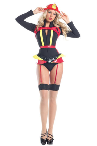 f1c53327e Be Wicked 4 Piece Hearts Afire L S Romper Costume BW1560.  42.00. Be Wicked  BWB96 Opaque Strapless Bodystocking