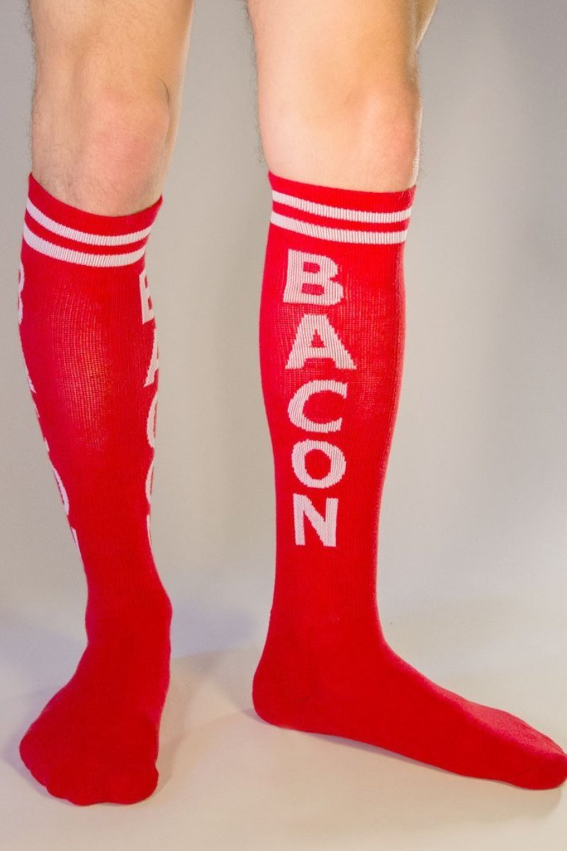 Gumball Poodle Bacon (KNEE) Sock