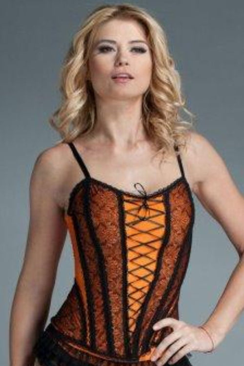 Fearless & Fun Lace-Up Corset FAF H255