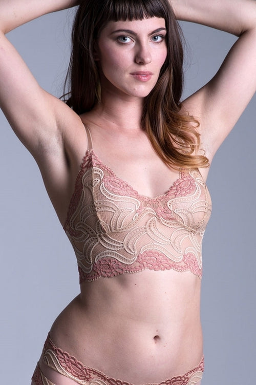 On the Inside Sassafrass Lace Bra Panty SET